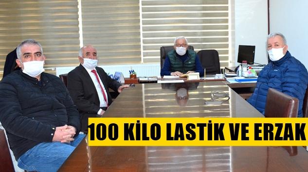 ESNAF KEFALET'TEN BELEDİYEYE DESTEK