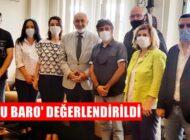 BALBALOĞLU'NDAN, EROĞLU'NA 'HUKUK GÜNÜ' ZİYARETİ