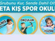 KETA KIŞ SPOR OKULUNDA  EĞİTİMLER 'AVANTAJLARLA' BAŞLIYOR!