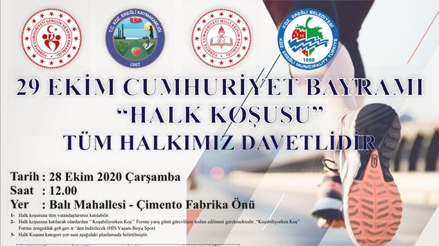 """""""KOŞABİLİYORKEN KOŞ"""""""